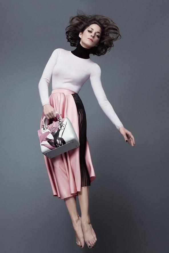 Marion Cottilard for Lady Dior