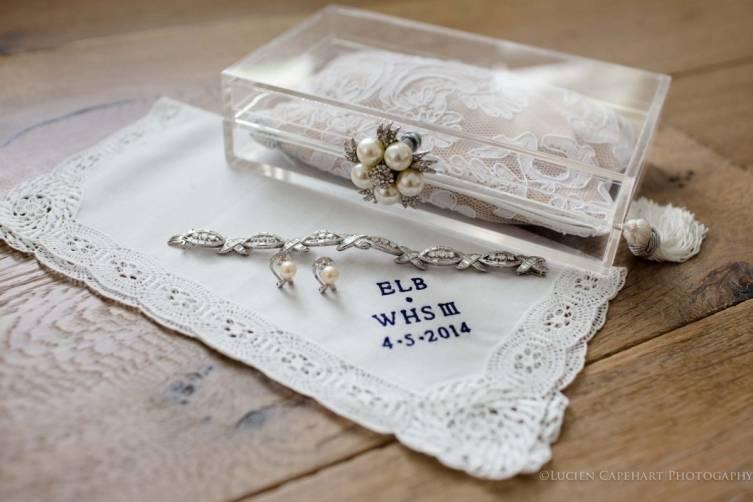 Lizzi Sned's Wedding Clutch