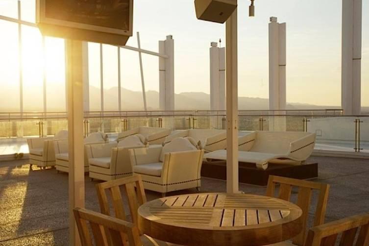 Lounge Area at Sunset