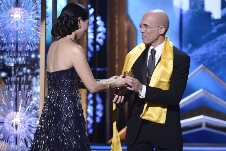 Lucy Liu + Jeffrey Katzenberg