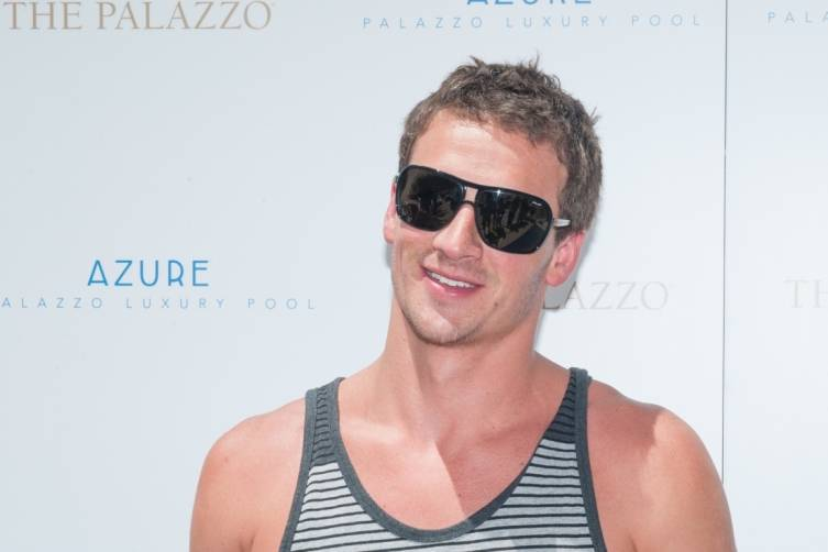 Olympic Gold Medalist Ryan Lochte Soaks Up Some Sun At Azure 2
