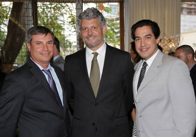 Patrick Campbell, Javier Cuadros, Andres Asion