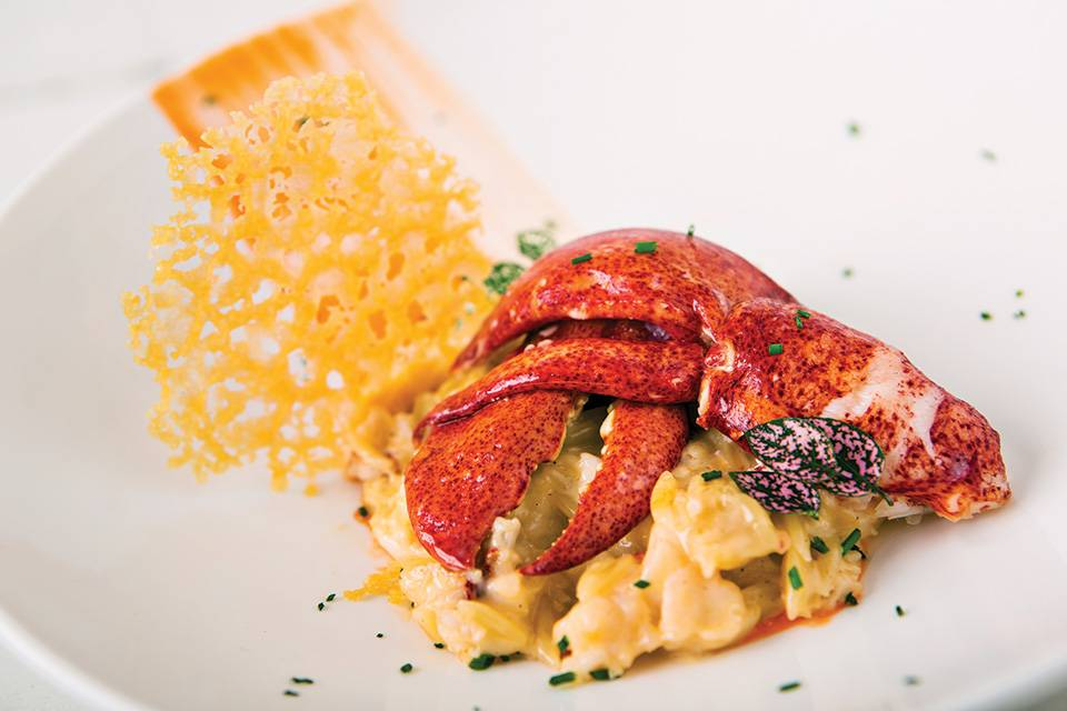 Shikany-Butter-Poached-Maine-Lobster-Mac-photo-credit-Michael-Pissari