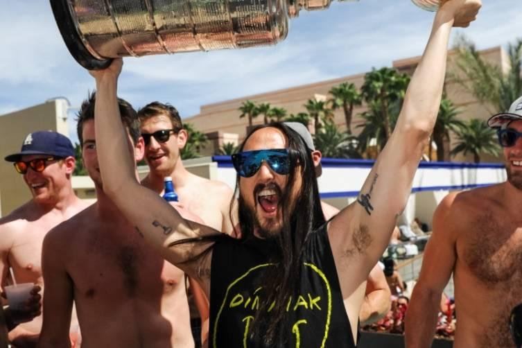 Steve Aoki_Stanley Cup