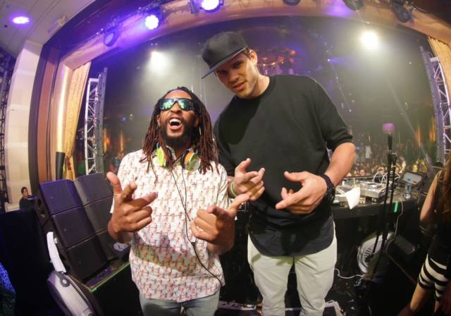 Kris Humphris and Lil Jon. Photos: Danny Mahoney