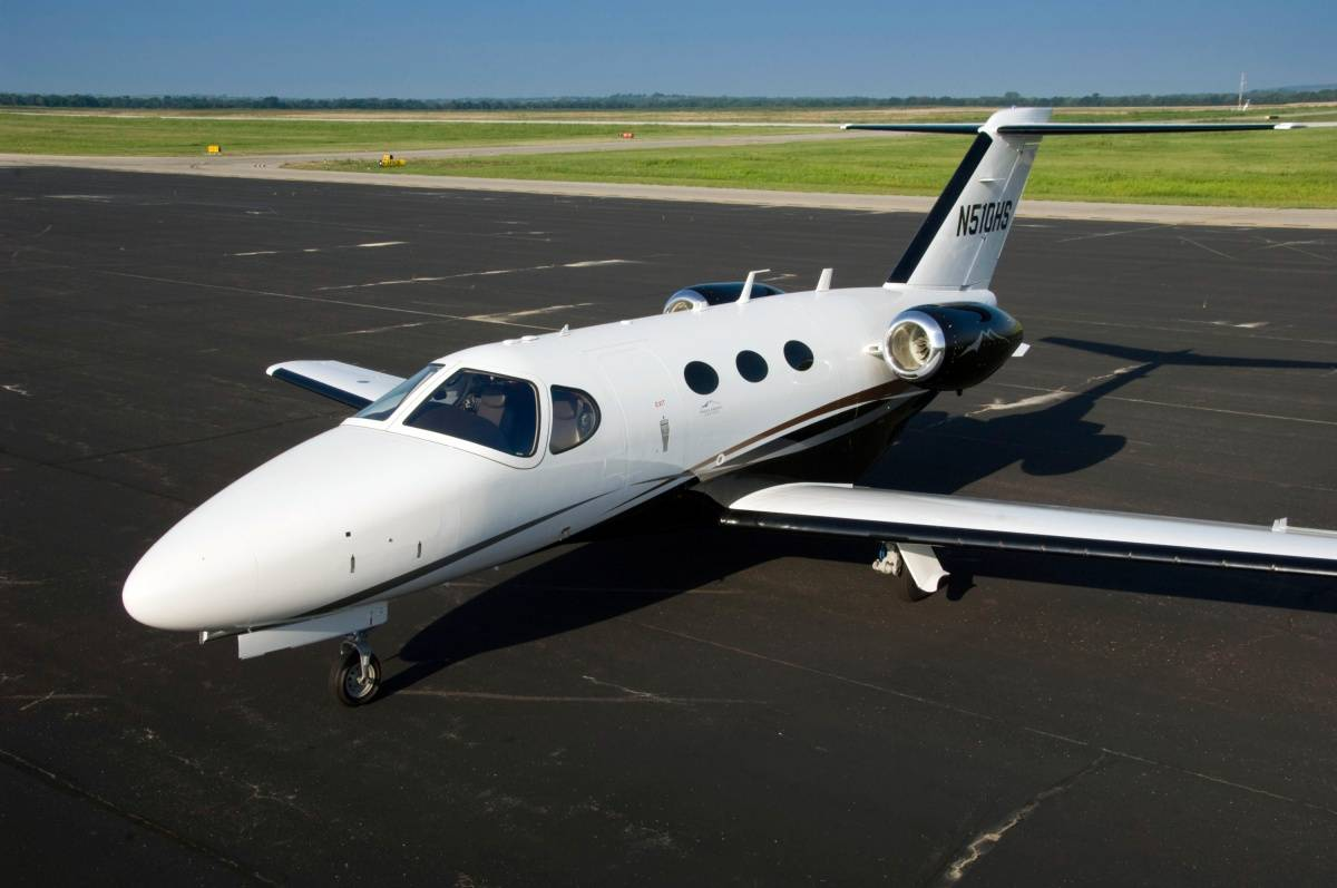 Cessna Citation Mustang Named Top 10 Private JetPropelled Aircraft