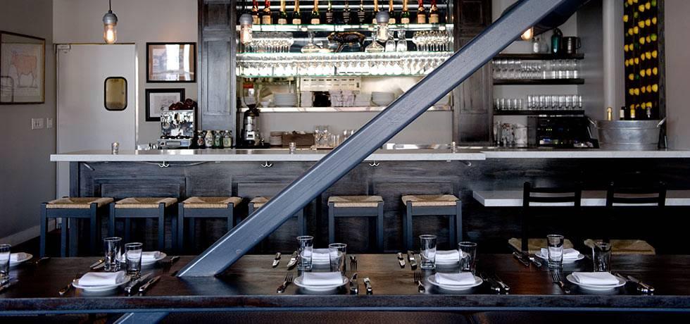 Marlowe Restaurant Interior