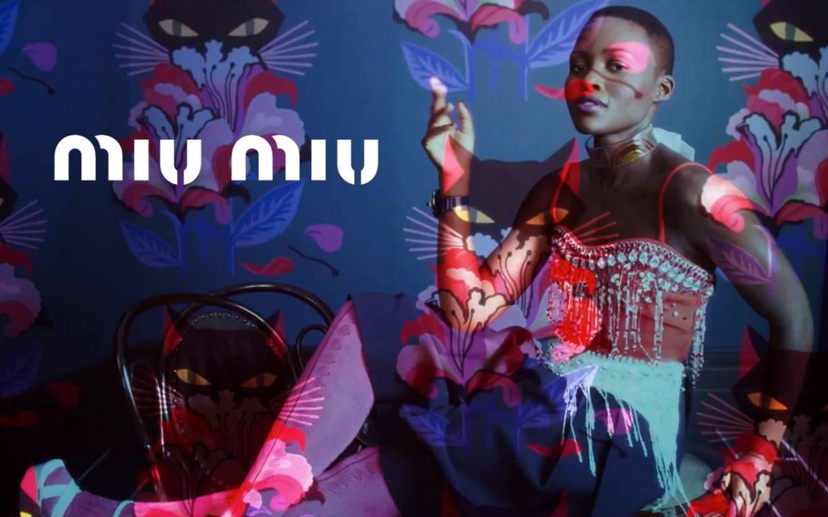 Lupita Nyong'o for Miu Mi