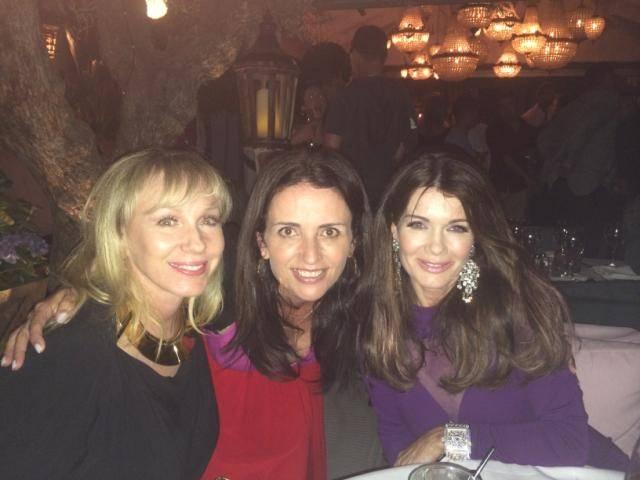 Lea Black, Jenni Pulos and Lisa Vanderpump
