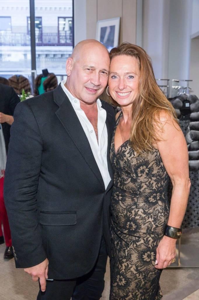 Carmen Marc Valvo and Elisabeth Thieriot  Credit: Drew Altizer Photography