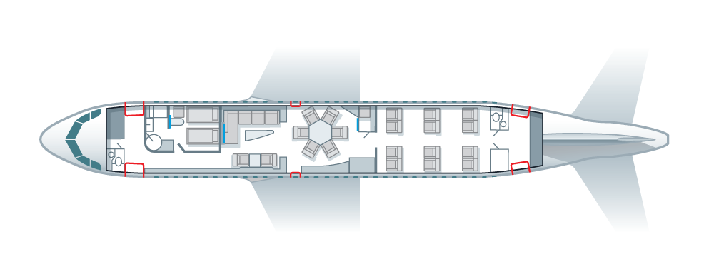 ACJ319 floorplan