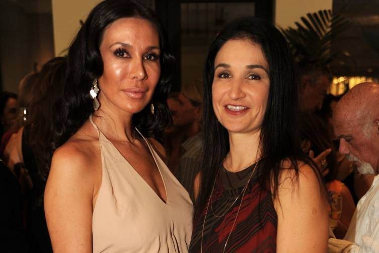 Andrea Bacalea and Alexandra Conejos