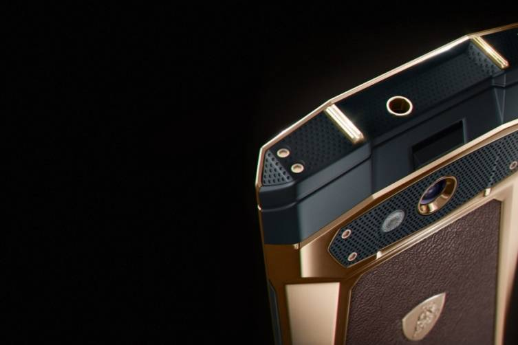 Antares Smartphone in rose gold