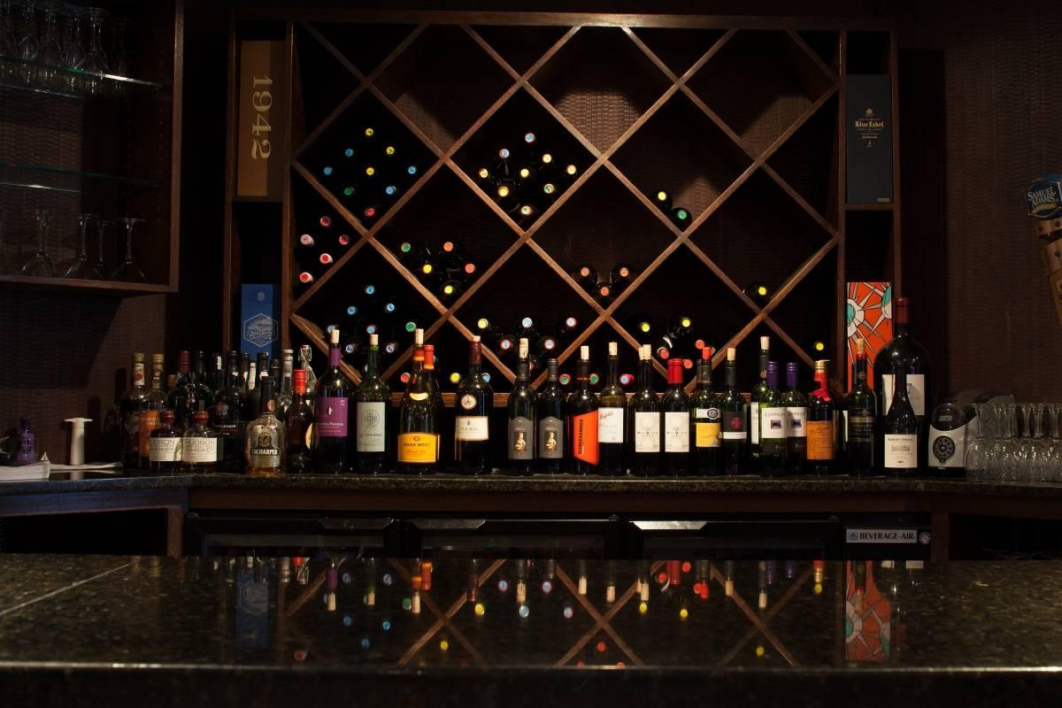 BHR Interior Wine Selection