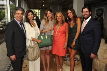 Carlos Rosso, Annette Lopez, Iva Kosovic, Rima Otrakji, & Christy & David Martin