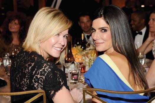 Chelsea Handler & Sandra Bullock