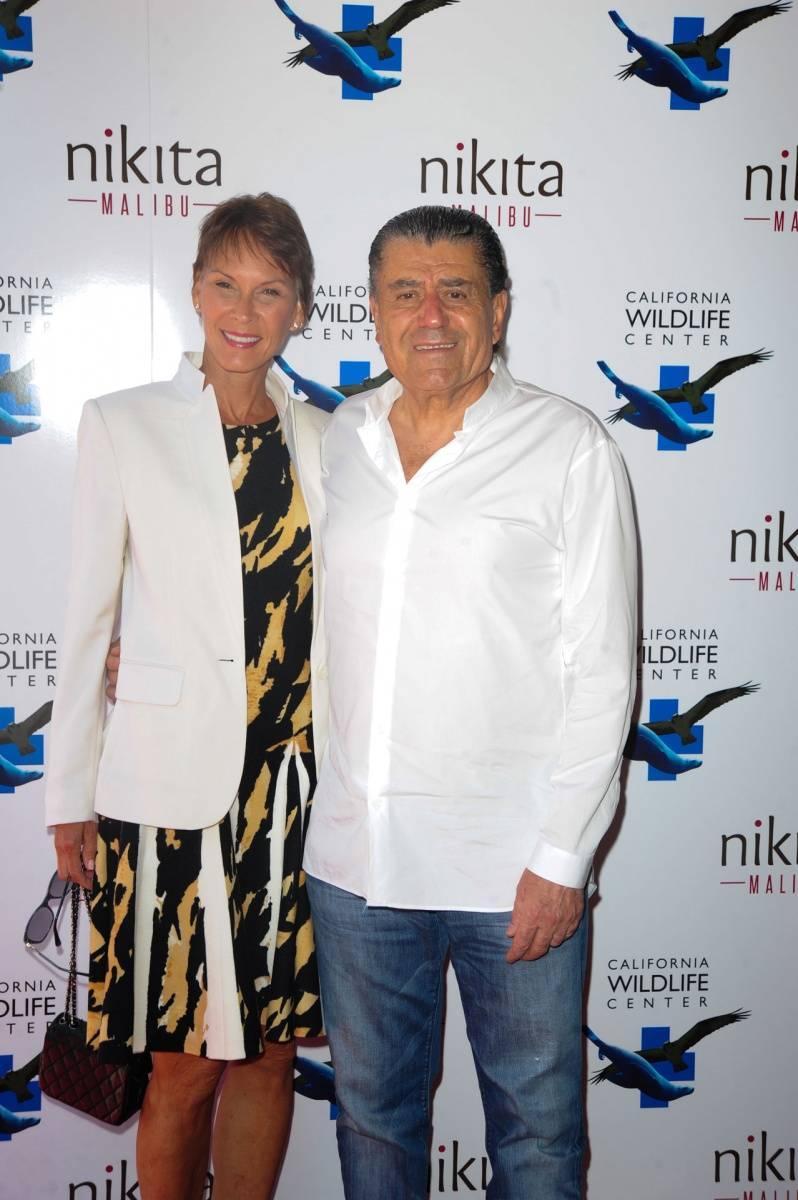 Cheryl & Haim Saban.