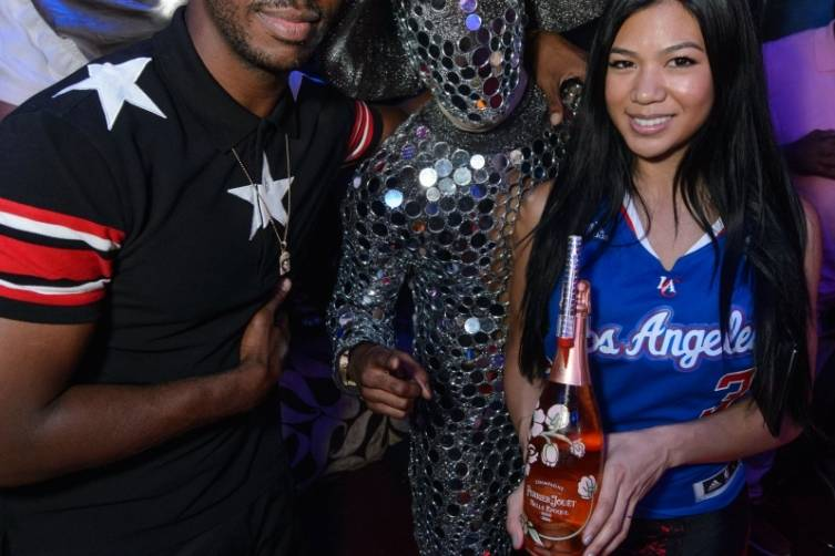 Chris Paul with TAO's Mirror Man