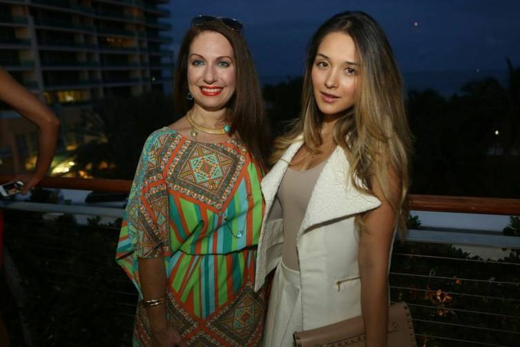 Maria Rivero and Daniela Pineda
