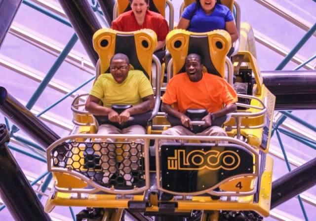 El Loco at The Adventuredome at Circus Circus - Riders 1