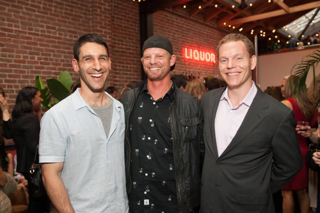 Eric Passetti, Ian Ross and  Dennis Leary  Credit: Drew Altizer Photography