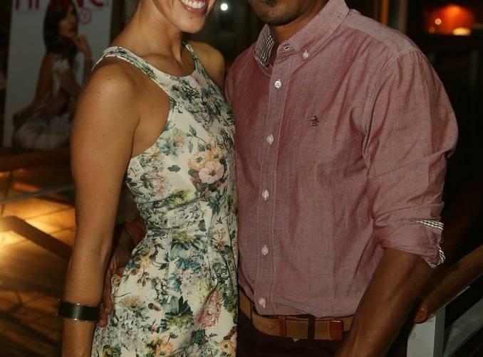 Tania Ramos and Allister Roper