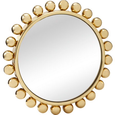 Fornasetti Brass-Framed Mirror