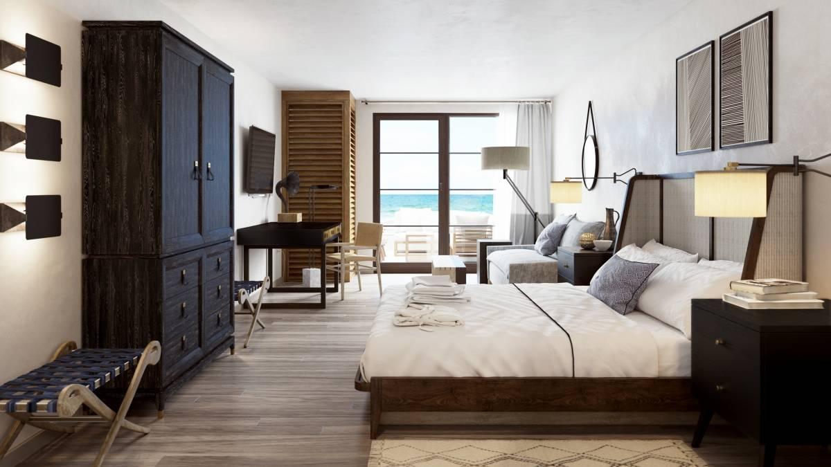 Gurneys Inn Bedroom