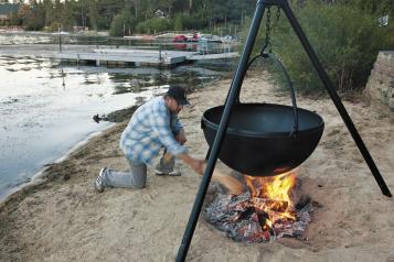 Fish Fry Cauldron small