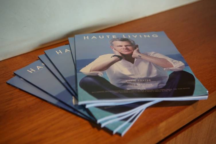 Haute Living Magazine's Malibu issue