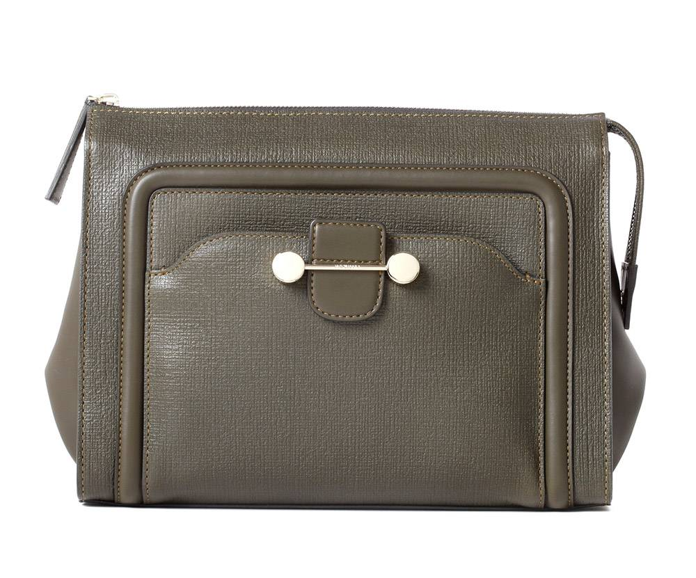 Jason Wu Daphne Olive Clutch ($1195) available at Editorialist.com
