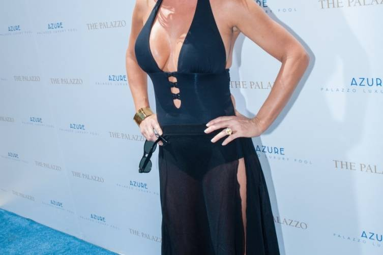 Jenny McCarthy at Azure Luxury Pool
