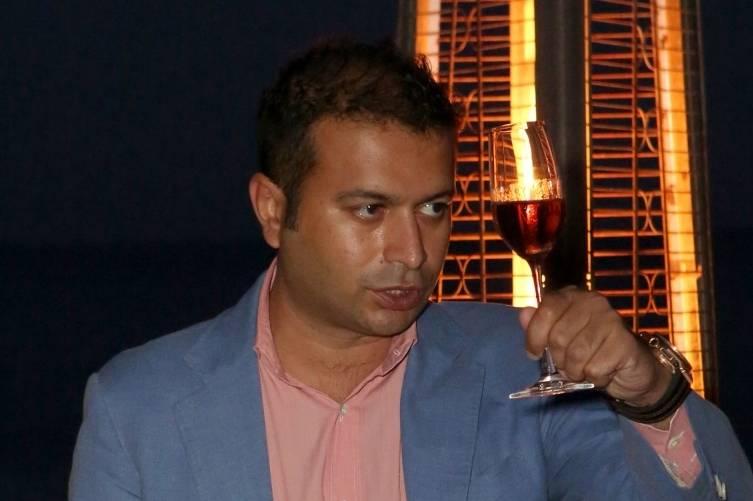 Kamal Hotchandani during the toast to Westime and Hublot
