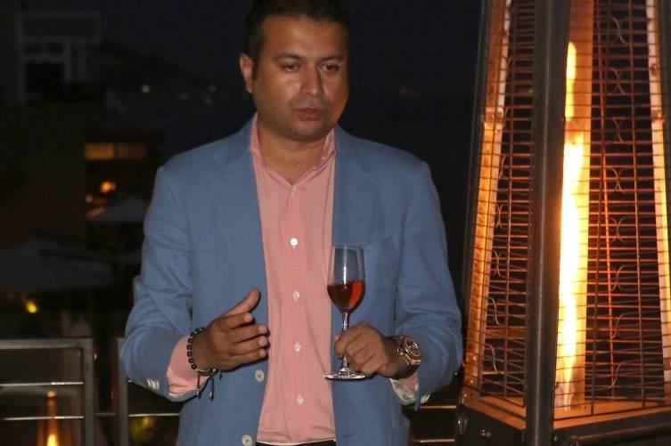 Kamal Hotchandani toasts Westime