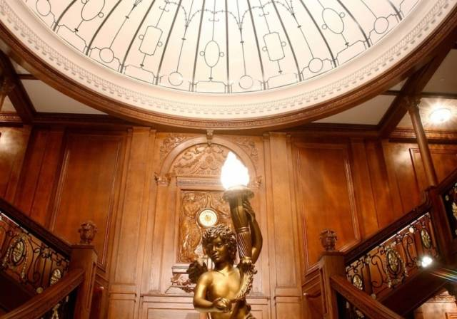 Luxor - Titanic The Artifact Exhibit - Grand Staircase