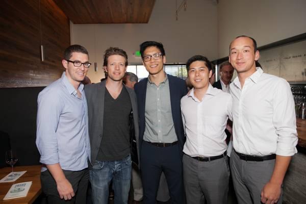 Ross Barasch, John Holmes, Allen Kuo, Steve Seto and Alex Quan