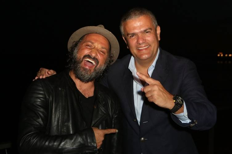 Mr. Brainwash & Ricardo Guadalupe