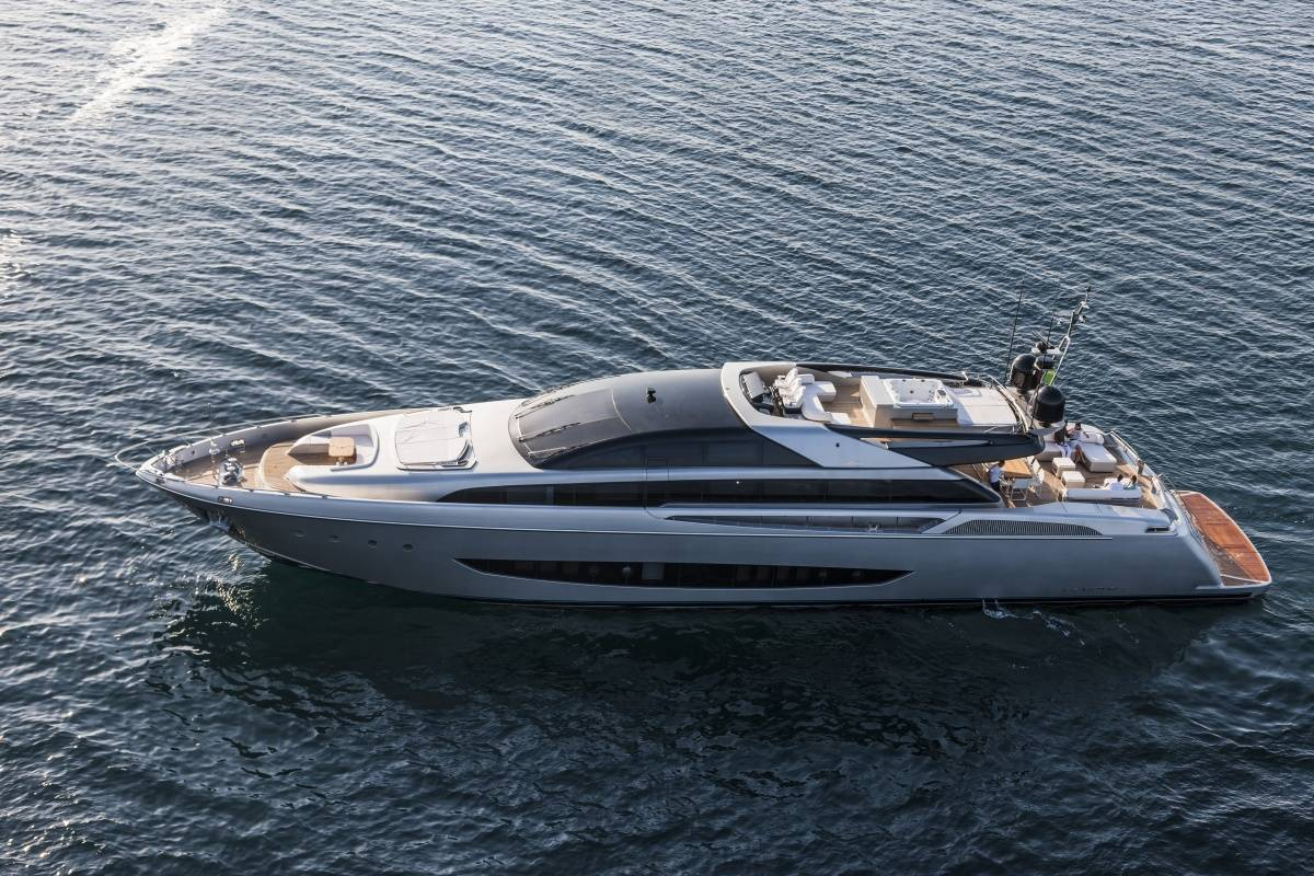 The 122 Mythos Is The Biggest Yacht That Riva Has Ever Designed