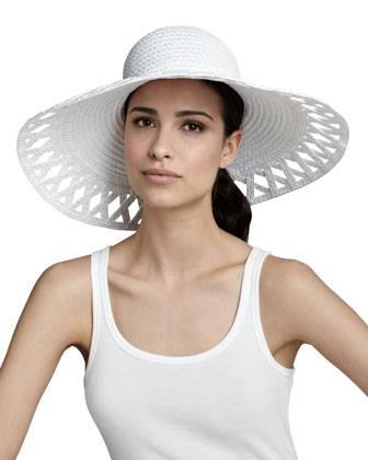 Eric Javits Wide-Brim Hat