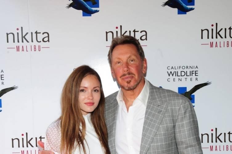 Nikita Kahn & Larry Ellison