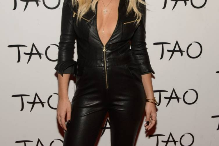 Rita Ora Arrives on TAO Red Carpet in Las Vegas