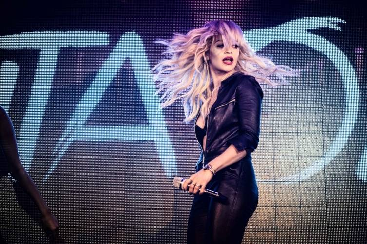 Rita Ora Performance at TAO Nightclub_2