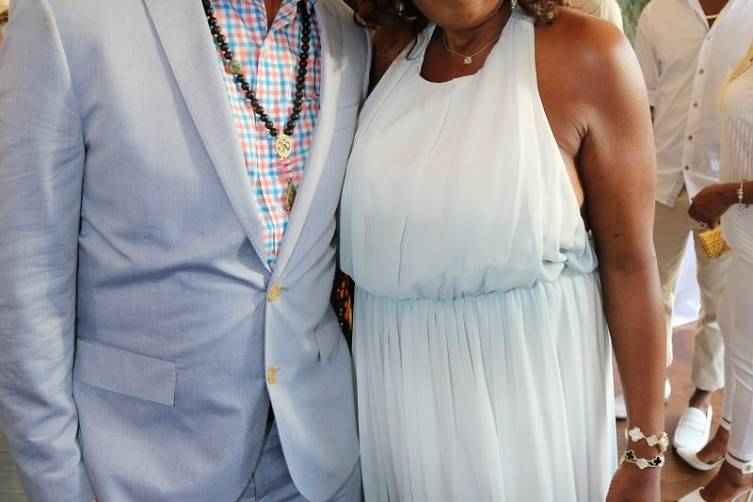 Russell Simmons and Star Jones