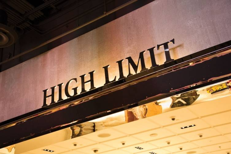 High Limit: a gaming room for big spenders