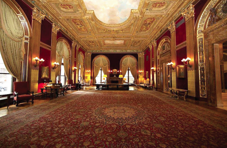 Inside the University Club of New York, image via clubandresortbusiness.com