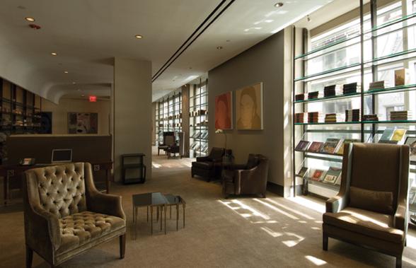 CORE: Club Library and conference room, image via cfxusa.com