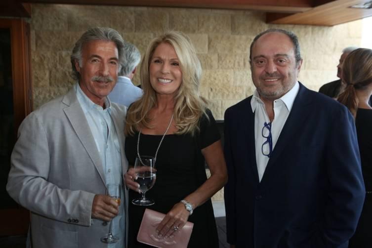 Steven & Debbie Weiss & John Simonian