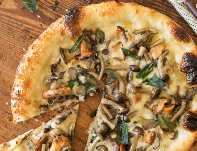 Terrazza Funghi Pizza - Courtesy of Terrazza