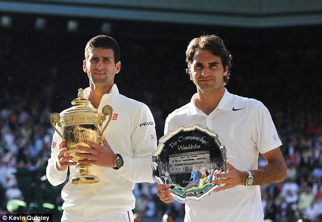 Novak Djokovic beat Roger Federer at Men's Final