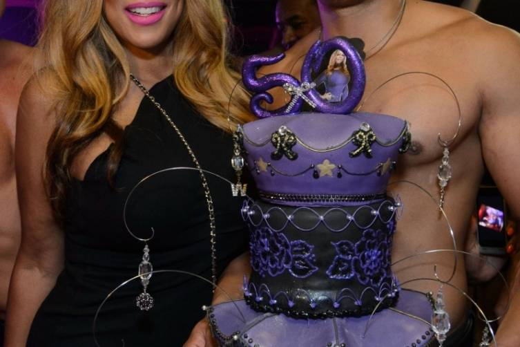 Wendy Williams With Birthday Cake at TAO